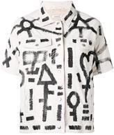P.A.R.O.S.H. Mistic jacket - women - Cotton/Sheep Skin/Shearling - XS