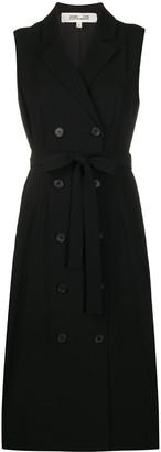 Diane von Furstenberg sleeveless blazer dress