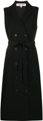 Diane von Furstenberg sleeveless blazer dress