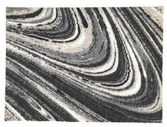 Company C Marble Onyx Area Rug CompanyC Rug Size: Rectangle 2' x 3'