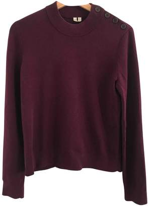 Arket Burgundy Wool Knitwear for Women