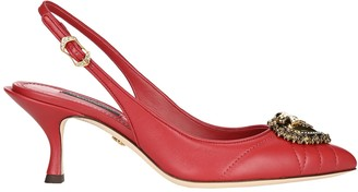 Dolce & Gabbana Devotion Slingback Pumps