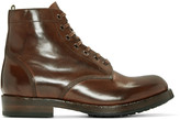 Officine Creative Brown Lowry Boots