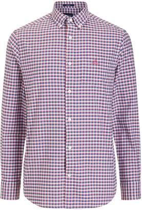 Gant Preppy Oxford Check Shirt, Red