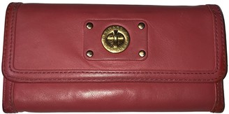 Marc by Marc Jacobs Red Leather Wallets