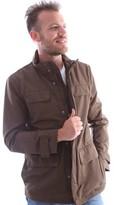 Geox M6220H T0351 Jacket Man Brown Brown
