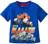 Nickelodeon Blaze and the Monster Machines Toddler Boys Lets Blaze! Tee Shirt