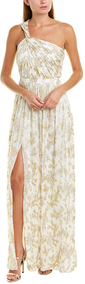 Rachel Zoe Bella Silk-Blend Gown