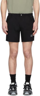 Martin Asbjorn Black Boring Tennis Shorts