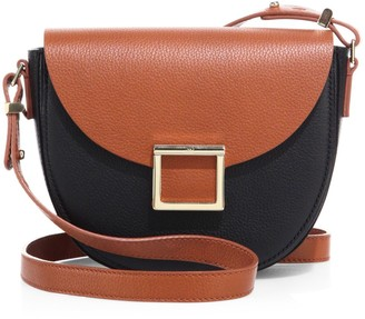 Jason Wu Collection Mini Jaime Colorblock Leather Saddle Bag