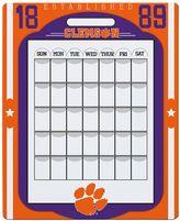 Clemson Tigers Dry Erase Calendar