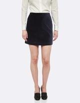 Oxford Velvet Skirt