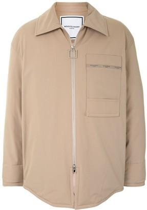 Wooyoungmi Patch-Pocket Padded Shirt Jacket