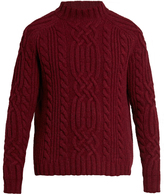 Raey Cable-knit wool sweater
