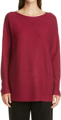 Eileen Fisher Silk & Cashmere Tunic