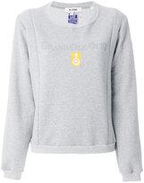 RE/DONE printed sweatshirt - women - Cotton/Polyester - 2