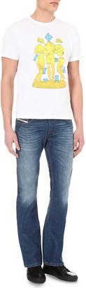 Diesel Zatiny 08XR slim-fit bootcut jeans