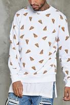 Forever 21 Pizza Graphic Sweatshirt