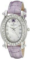 Croton Women's CN207537LVMP Balliamo June Birthstone Analog Display Quartz Purple Watch