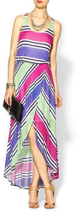 Splendid Cabana Stripe Maxi Dress