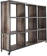 Soundslike HOME Bookcases Atelier 9 Compartment Storage Unit, Black