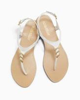 Soma Intimates Olivia Miller Gold Embellished Sandal