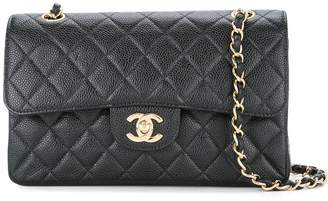 Chanel Pre-Owned Double flap quilted chain shoulder bag