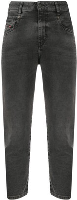 Diesel Cropped Slim-Fit Jeans