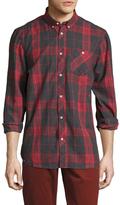 Wesc Plaid Spread Collar Sportshirt