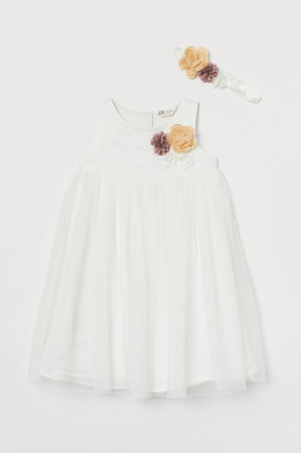 H&M Tulle Dress and Hairband