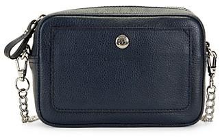 Longchamp Convertible Leather Crossbody Bag