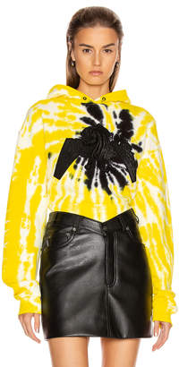 RtA x Dundas Brad Hoodie in Yellow Tie Dye | FWRD