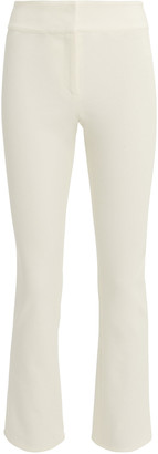 Veronica Beard Rumi Stretch-Cotton Cropped Pants