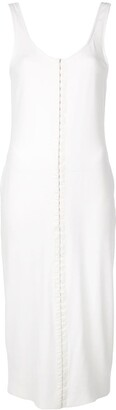 Thierry Mugler front fastening dress