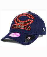 New Era Women's Chicago Bears Glitter Glam 2.0 9FORTY Cap