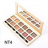 Fashion 12 Colors Eyeshadow Palette Luxury Golden Matte Nude Eye Shadow Palettes (H)
