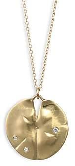 Annette Ferdinandsen Women's Diamond & 14K Yellow Gold Pendant Necklace
