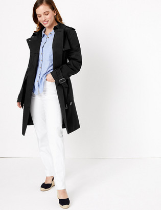 Marks and Spencer PETITE Double Breasted Coat