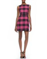 Jolie Plaid A-Line Dress