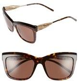 Burberry Women's 56Mm Retro Sunglasses - Dark Havana
