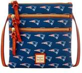 Dooney & Bourke New England Patriots Triple Zip Crossbody Bag