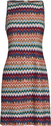 Missoni Sleeveless Knit Mini Shift Dress