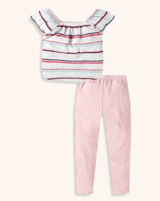 Splendid Little Girl Multi Stripe Top Set