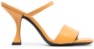 BY FAR Nayla strappy sandals