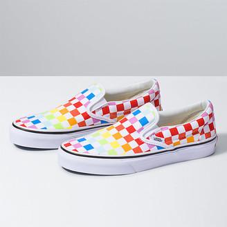 Checkerboard Vans | Shop the world's