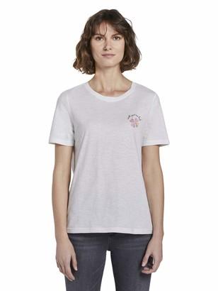 Tom Tailor Women's Basic T-Shirt Blouse