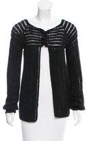 Mayle Alpaca Crochet Knit Cardigan