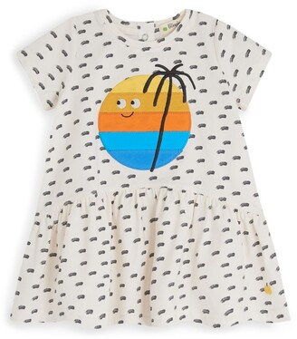 The Bonnie Mob Graphic Frilled Dress (6-24 Months)