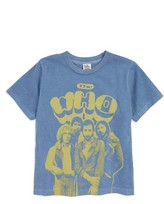 Junk Food Clothing Toddler Boy's The Who - U.s. Tour '76 T-Shirt