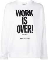 Carhartt Ellery slogan sweatshirt - women - Cotton/Spandex/Elastane - S